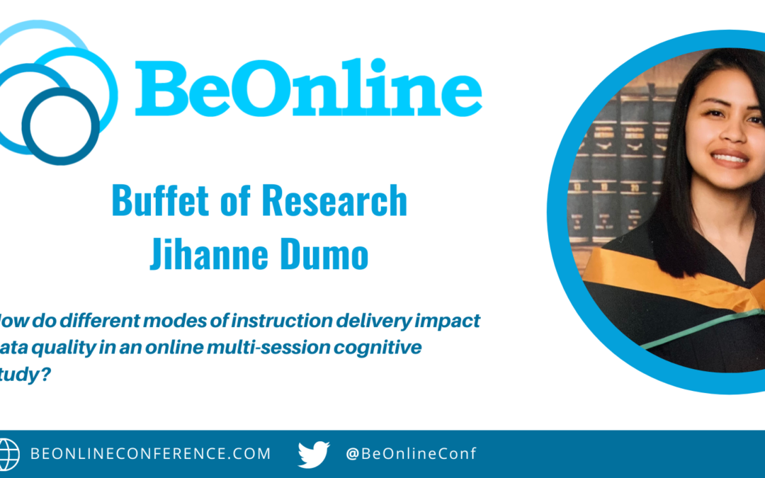 How do different modes of instruction delivery impact data quality in an online multi-session cognitivestudy?